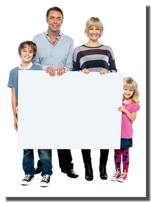 Family Altar Board -- Catechism, church year, lectionary text, & hymns, on a simple whiteboard