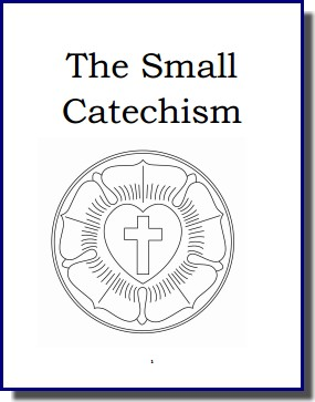Reader Contribution -- Letter Sized Small Catechism, Joshua Reynolds