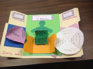 Guest Post -- Catechism Lapbooks, Haleigh Morgan
