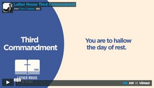 Videos -- Luther House of Study begins Catechism Video Series